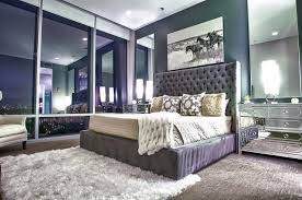 white square large rugs under modern headboard beds furniture for luxury bedroom decoration with latest lighting above chrome drawer ideas and square wall
