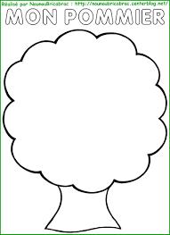 Pommier Remplir De Pommes Colorier Animations Enfants