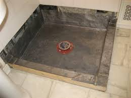 tricks how to build shower pan how to build a shower pan and repair