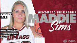 UMass Women's Basketball - Welcome to the #Flagship🚩, Maddie Sims! Sims  joins us from Siena and is eligible to play in the 2020-21 season. 📰  bit.ly/2LjYUPR | Facebook