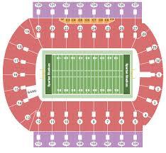 spartan stadium mi seating chart maps