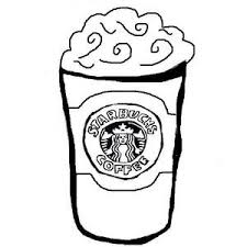 Cup Of Starbucks Coffee Coloring Page Free Printable Coloring