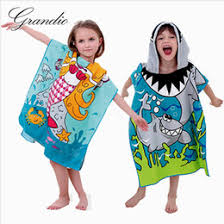 kids hooded beach towels. Kids Hooded Beach Towels UK - Wholesale-Microfiber Bath Towel For Children Quick Dry