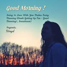 Good Morning virgil Quotes, Wishes, Greetings, WhatsApp Messages
