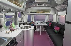 Airstream Interior Design Minimalist Simple Decorating