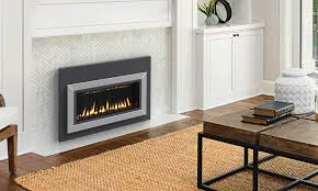 carina 26 dv fireplace insert facade surround not included distributed black painted carina gas fireplace gas modern appliance
