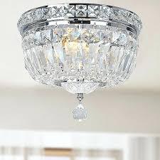 crystal chandelier flush mount innovative flush mount crystal lighting and lighting design ideas small semi flush