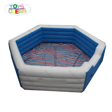 Gaga Pit Design Us 980 0 Customized Design Logo Place Inflatable Gaga Pit Ball Field For Sport Games In Inflatable Bouncers From Toys Hobbies On Aliexpress