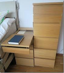 malm extendable bedside table ikea