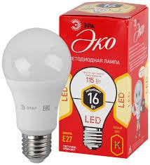 """<b>Лампа LED</b> """"груша"""" Е27 16Вт (1280Лм) 2700К 230В <b>ЭРА</b> ECO ..."""