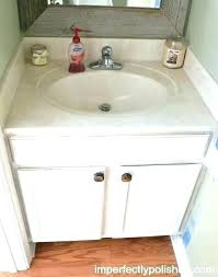 spray paint bathroom sink how to paint a bathroom sink chalk paint bathroom cabinets can i