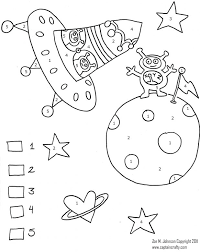 Ocean Coloring Pages Color By Number Fish Bowl Rainbow Fisher ...
