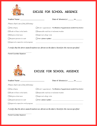 School Excuse Template Doctors Note For School Absence Template Rome Fontanacountryinn Com