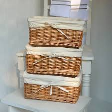 Furniture:Fascinating White Stair Shelves Design With Rectangle Cream Wicker  Storage Shelves Idea Fascinating White
