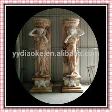 Small Picture Sunny Marble Gate Statues Column Shape Decorative Pillars For