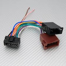 sony 16 pin iso car stereo radio audio wire wiring harness harness adapter for car stereo click here to enlarge images