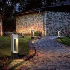 8 electric led lawn light