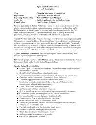 Job Description Title Clinical Coordinator Mobile Unit