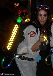 homemade ghostbusters costume
