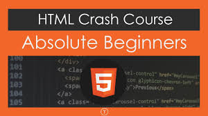 HTML Crash Course For Absolute Beginners - YouTube