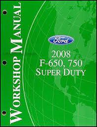 2008 ford f650 f750 super dutytruck wiring diagram manual original related items