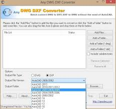 Convert Dwg To Dxf Any Dwg Dxf Converter Download Freeware De