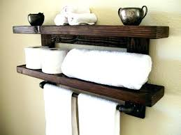 Wall towel storage Bathroom Wire 10514emeraldchaseinfo Wire Towel Shelf Storage Solutions All Around The House Great