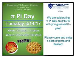 pi day invitation ut news blog archive easy as pi math department invites ut to