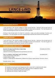 Oil And Gas Resume Examples Mining Engineering 577