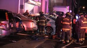 paterson nj fire department operates at an accident car into building with entrapment 27 31 1st ave