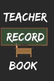 Teacher Record Teacher Record Book Dope Conversations Book In Stock