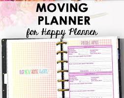 Moving Checklist Etsy