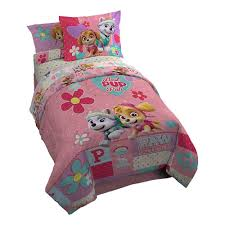 nickelodeon paw patrol kids bedding sets ease with girls full size pawsome twin comforter set character