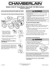 chamberlain 41a6127 owner s manual pdf
