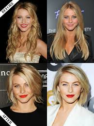 Hair Style Before And After julianne hough long to short hair before & after hair 8302 by wearticles.com