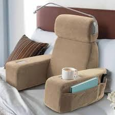 Chair Pillow For Bed E fort Bed Rest Reading Pillow At