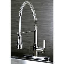 Continental Modern Spiral Pull down Chrome Kitchen Faucet Free
