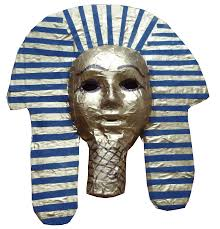 Plastic Masks To Decorate Ancient Egyptian death mask Young Archaeologists' Club 60