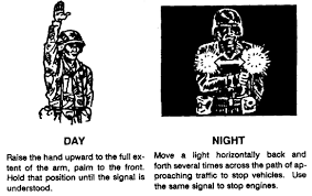 Marine Corps Hand Signals How To Use Hand And Arm Signals Visual Signaling To