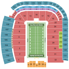 Texas Dkr Memorial Stadium Seating Chart Texas Longhorn Stadium Seating Elcho Table