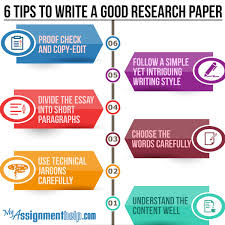 useful tips for research paper writing 6 tips to write a good research paper