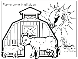 Baby Farm Animal Colouring Pages Farm Animal Coloring Page Coloring