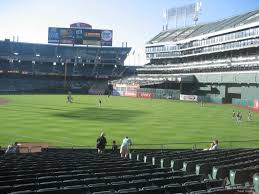 Ringcentral Coliseum Section 105 Oakland Athletics