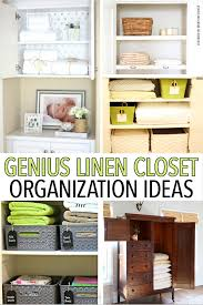 organize your linen closet with these awesome tips tricks and organizing s closet