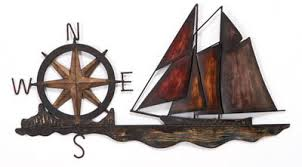 >nautical ships metal wall art nautical