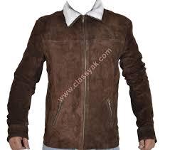 classyak walking dead series rick grimes suede leather jacket xs 5xl