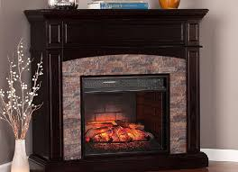 image of pleasant hearth corner electric fireplace