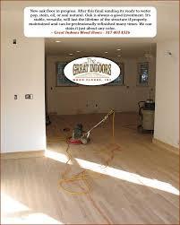 Sanding New Hardwood Floors Hardwood Flooring Installation By Great Indoors Wood Floors In
