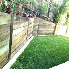 timber sleeper retaining wall design cost to build retaining wall wooden retaining walls design garden retaining