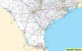map of south texas
